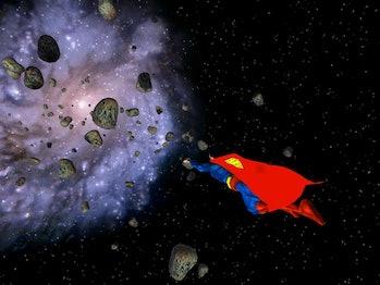 B612 Foundation Xbox Superman Man of Steel Video Game