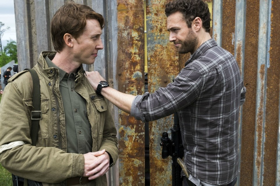 Will Aaron and Eric's romance be torn apart?
