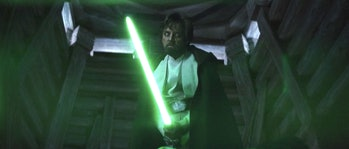 Luke Skywalker is loco crazy.