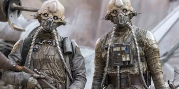 "Erido Two-Tubes and his ""egg mate"" in 'Rogue One'"