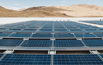 Gigafactory 1 will have the largest rooftop solar array in the world upon completion – 70MW or roughly ~200,000 solar panels