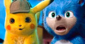 detective pikachu and cgi sonic