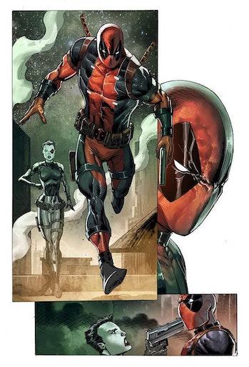 Rob Liefeld Deadpool Bad Blood