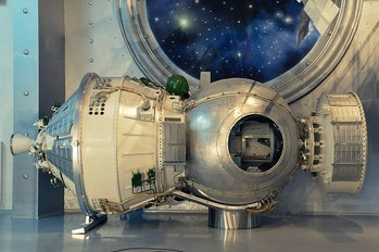 Kosmos 1514, now located at the Memorial Museum of Astronautics in Moscow. It was the rare Cold War ...