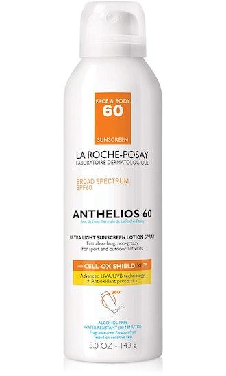 La Roche-Posay Anthelios Ultra-Light Sunscreen Spray Lotion SPF 60, 5 Fl. Oz.