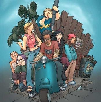 The Runaways from Marvel Coics