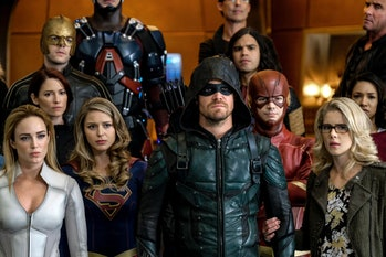 """""""Crisis on Earth-X"""" featured so many familiar heroes, and a few new ones too."""