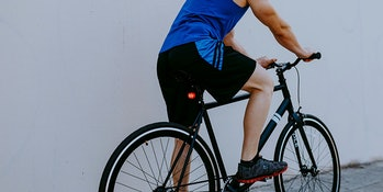 Night Provision Proton R60 Motion-Sensing Bike Brake Light