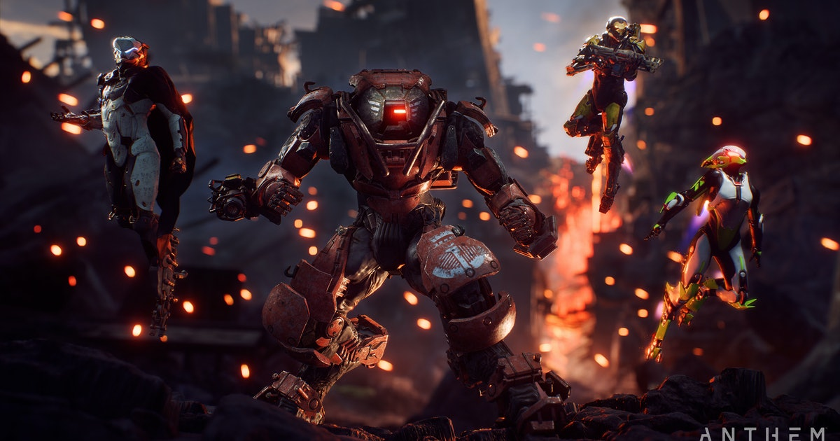 Anthem Best Javelin Class How To Pick The Mech Suit That S Right For You