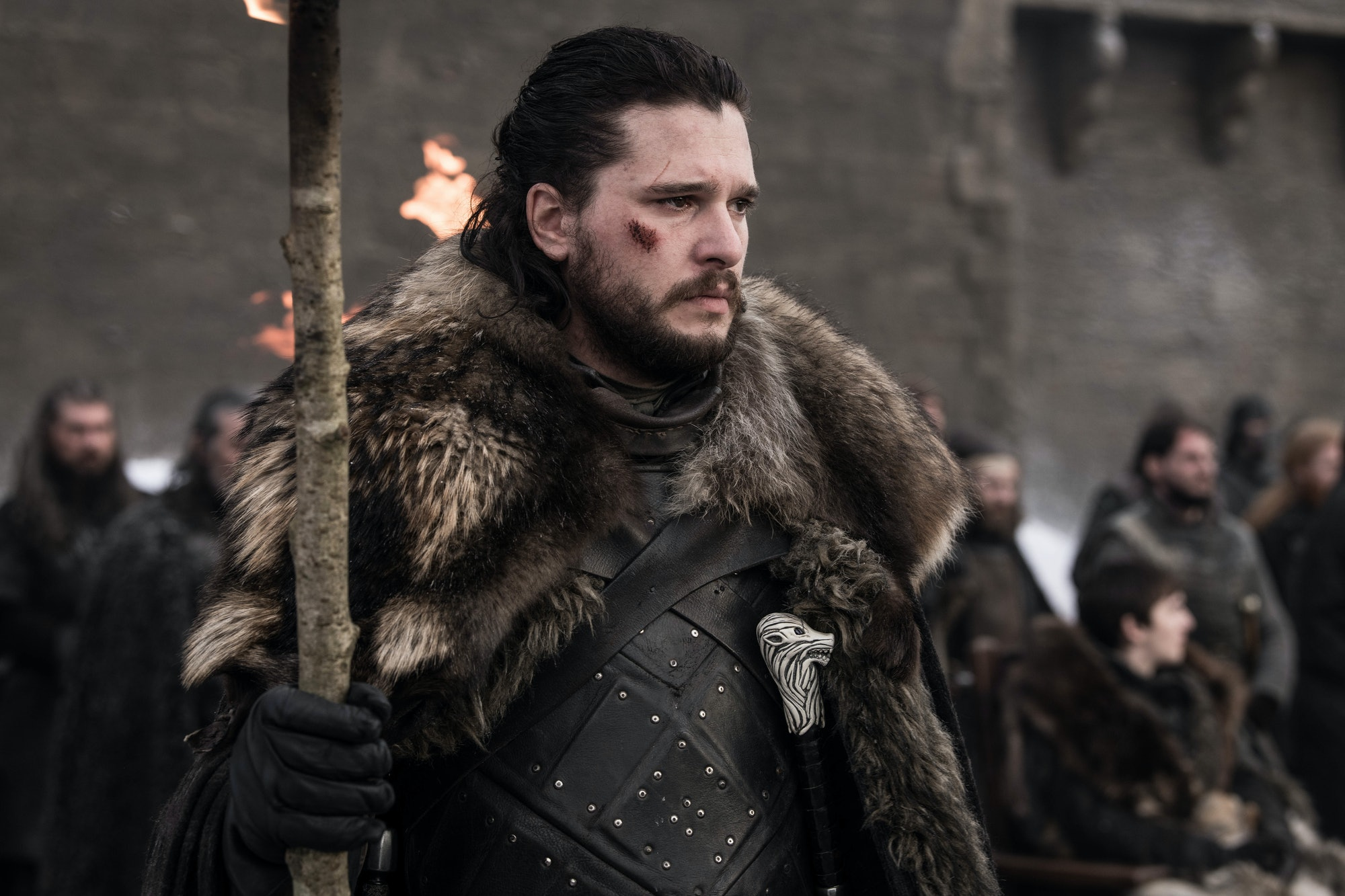 How will Jon Snow get on after the Battle of Winterfell?