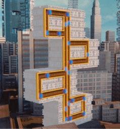 Magnetic elevator goes wherever ropeless design
