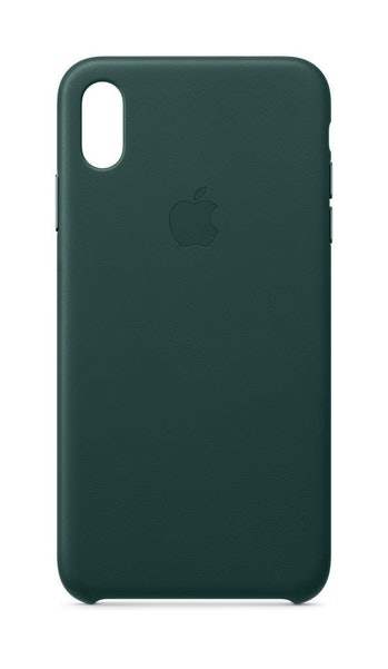 Apple Leather Case (for iPhone Xs Max) - Forest Green