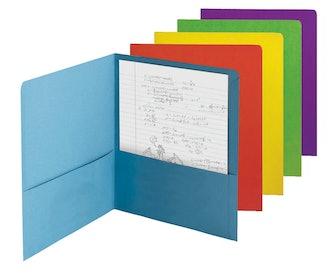 Smead Two-Pocket Heavyweight File Folders