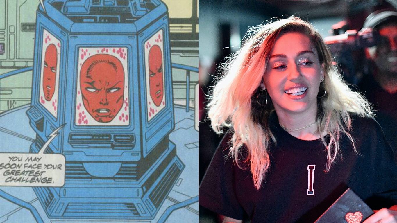 Mainframe Miley Cyrus Guardians of the Galaxy