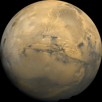 Mars Viking composite image
