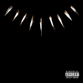 Black Panther soundtrack album cover