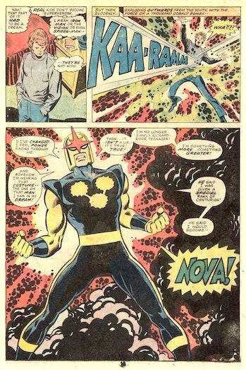 Nova Marvel Avengers Endgame