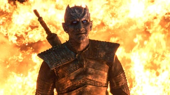 night king fire season 8