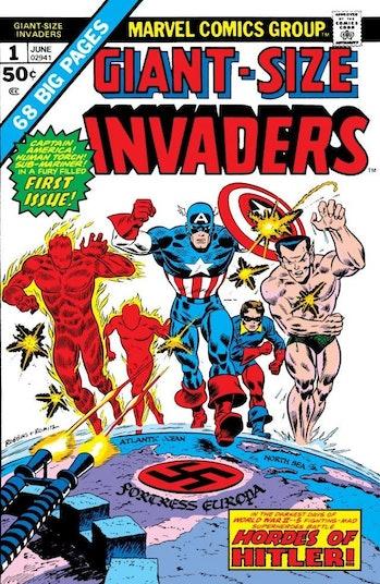 Invaders Namor Captain America