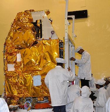 ISRO mars orbiter
