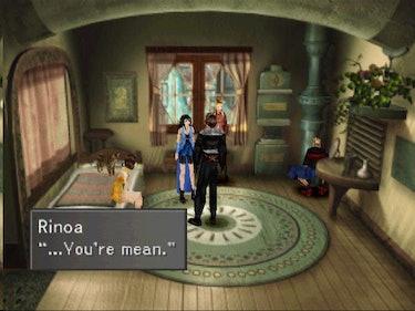 'Final Fantasy VIII' Rinoa calls Squall mean