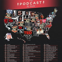 Map Shows the Most Popular Podcasts in Every State