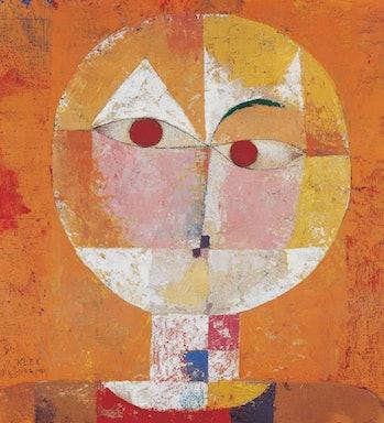 paul klee senecio painting google doodle