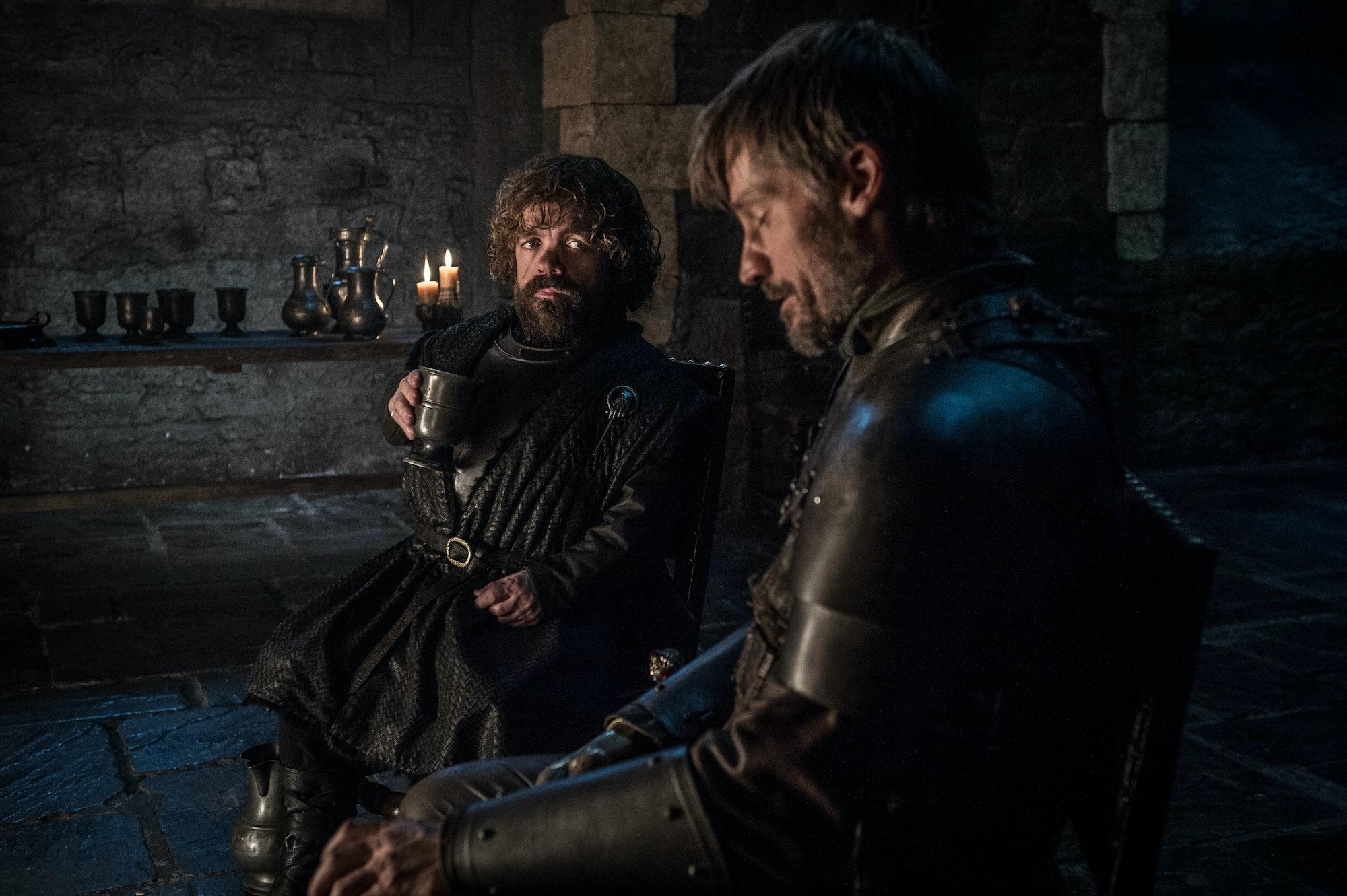 game of thrones season 8 jaime tyrion