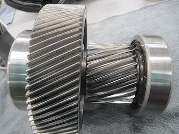 Tesla's motor after a million miles.