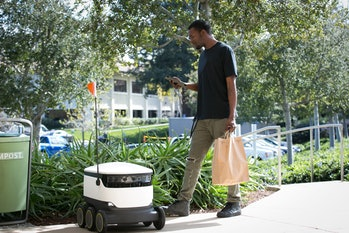 starship delivery robot e-class