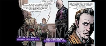 Daniel Drumm in Doctor Strange Prelude Comics