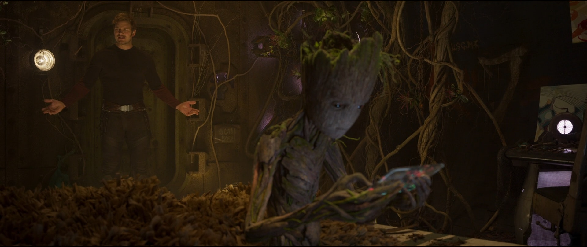Teen Groot has some sass in the post-credits scene of the second 'Guardians of the Galaxy' film.