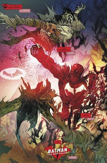 Red Death Flash Batman DC Comics