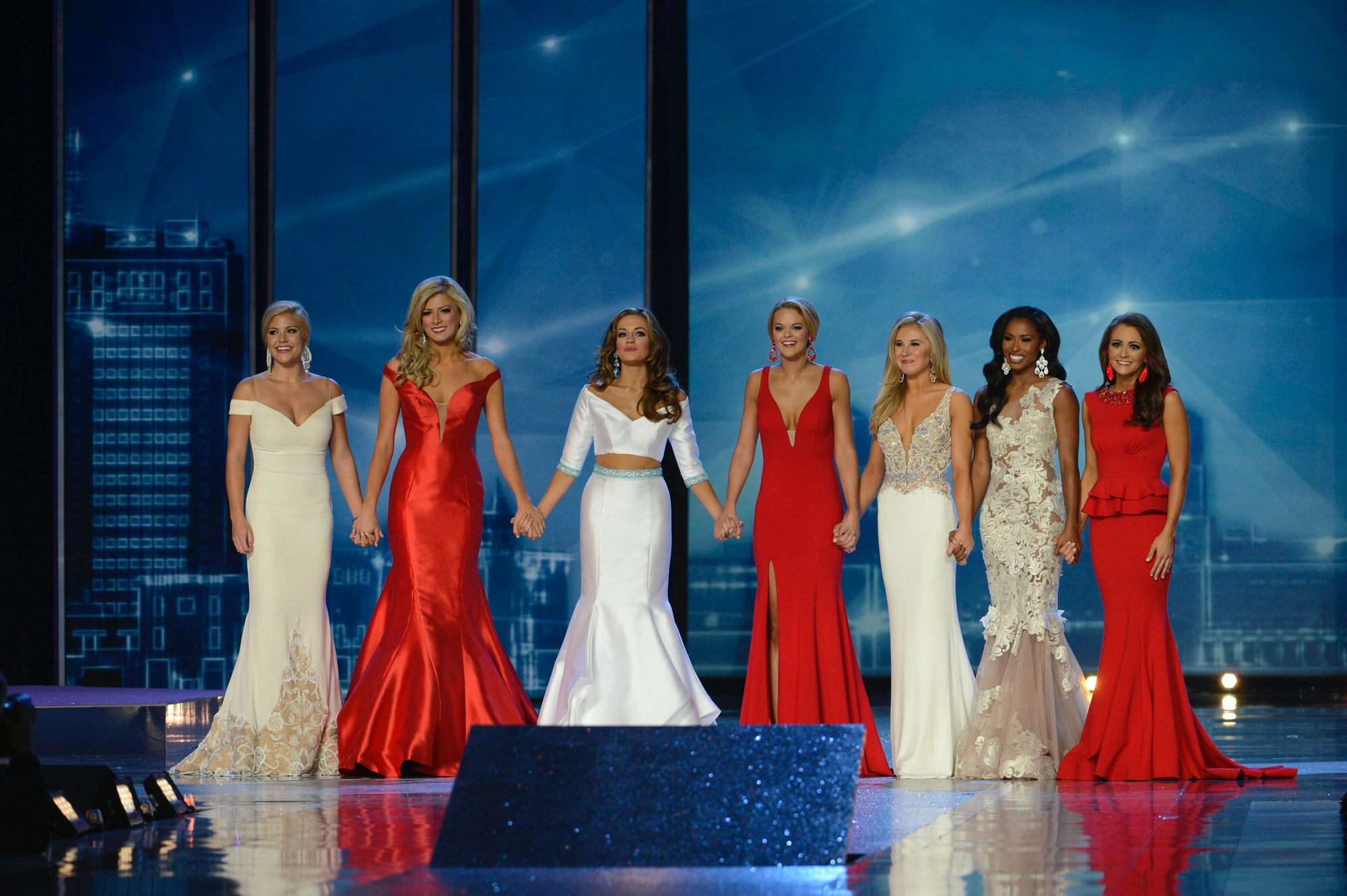 MISS AMERICA 2016 - The 95th Annual Miss America Pageant broadcasts live from Atlantic City's Boardwalk Hall on SUNDAY, SEPT. 13 (9-11pm, ET) airing on the ABC Television Network. (ABC/Ida Mae Astute) MISS AMERICA FINALISTS