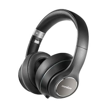Over Ear Headphones, Soundcore Vortex Wireless Headset by Anker, 20H Playtime, Deep Bass, Hi-Fi Ster...
