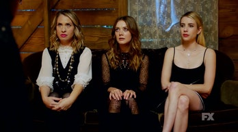 american horror story apocalypse season 8 finale coco leslie grossman mallory billie lourd madison emma roberts