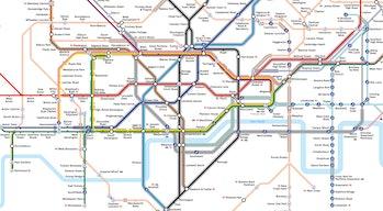 TfL's new map.