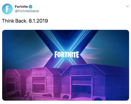 'Fortnite' Season 10 Teaser 1