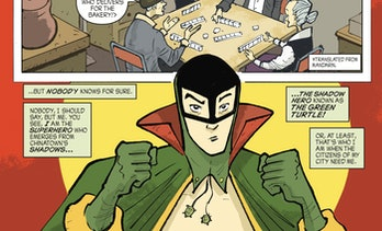 Green Turtle Shadow Hero Comics