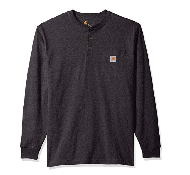 Workwear Long-Sleeve Henley T-Shirt