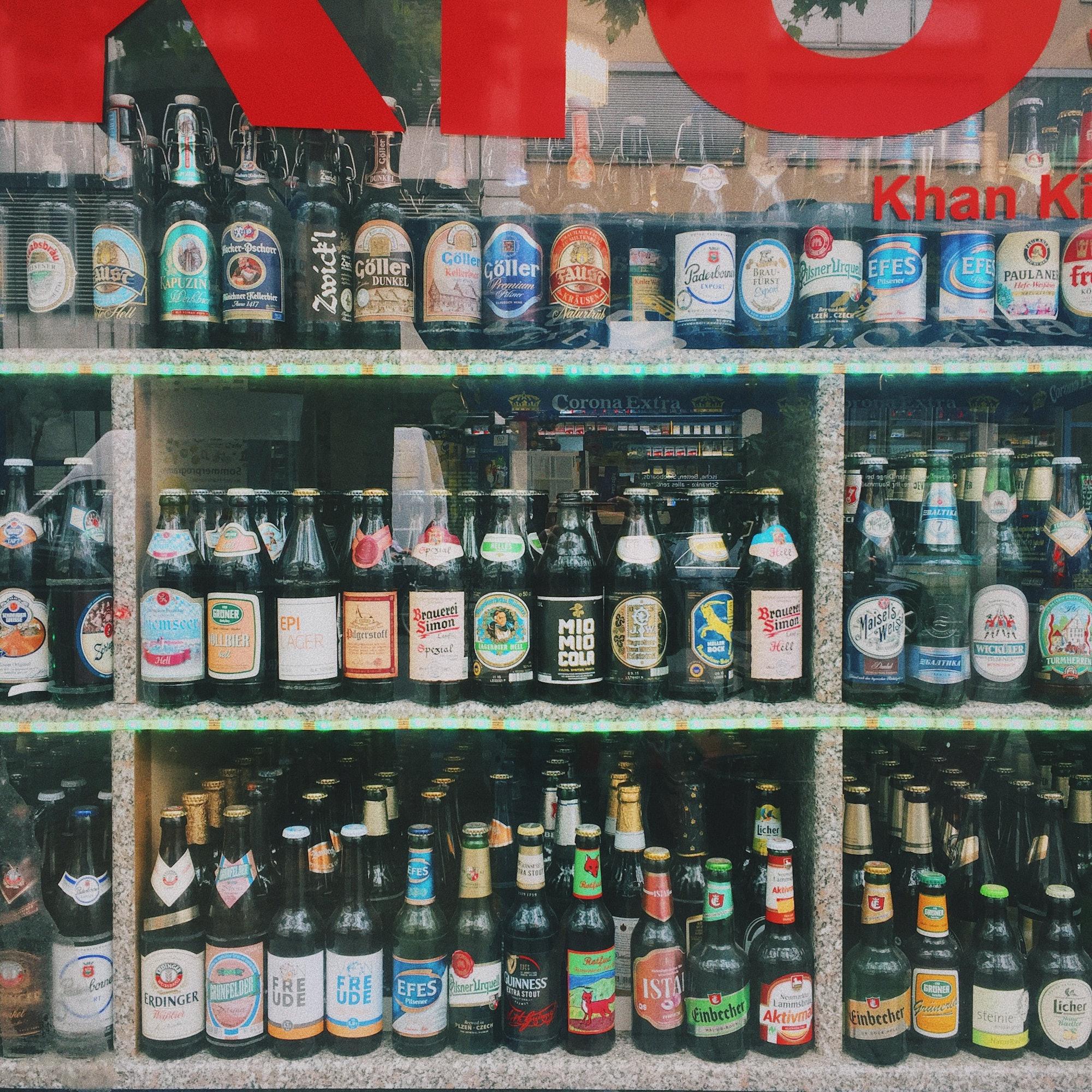 drinks, beer