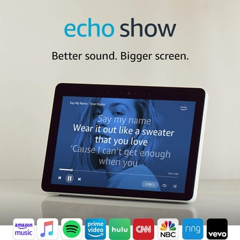 Give Alexa a screen and she is much more useful