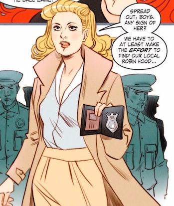Maggie Sawyer in 'DC Bombshells'