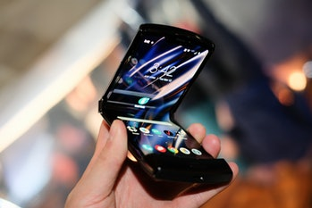 Motorola razr foldable phone