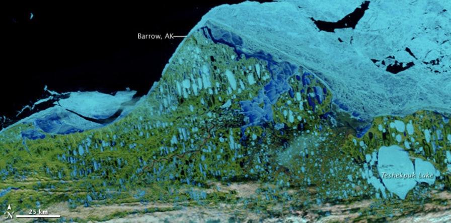 north slope alaska NASA