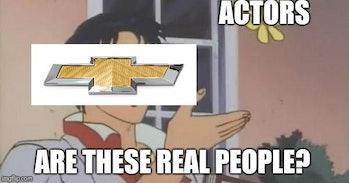 chevy pigeon meme