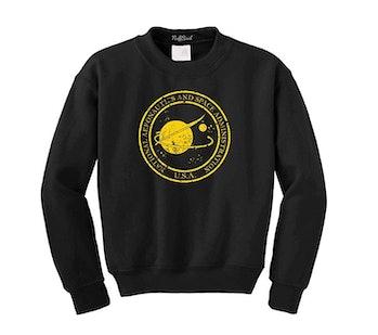 Vintage NASA Aeronautics Seal Crewneck Sweatshirt Pullover