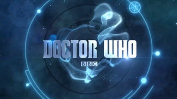 This was the 'Doctor Who' logo for Season 8 through 10.