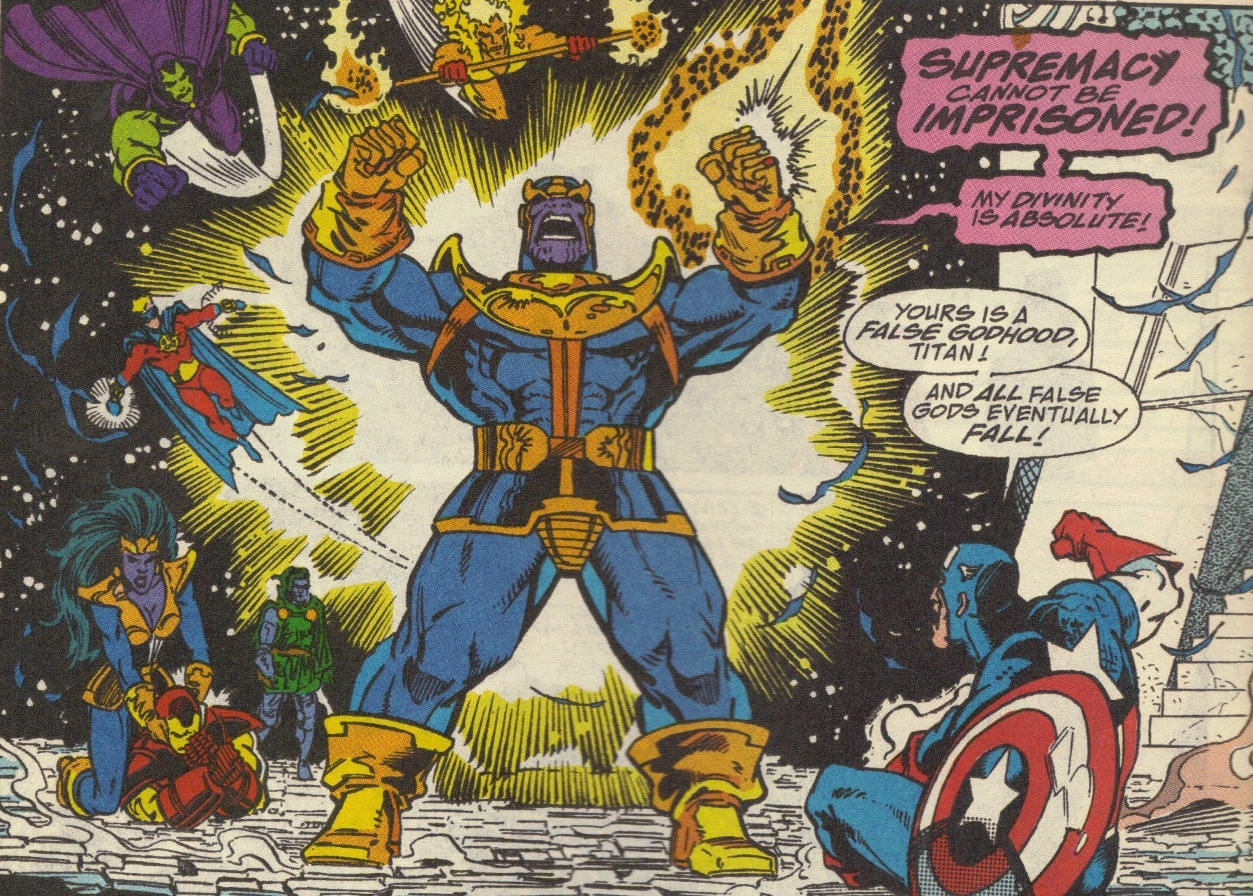 Thanos Infinity War Avengers Marvel