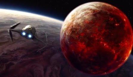 Anakin Skywalker arrives on Mustafar in 'Revenge of the Sith'